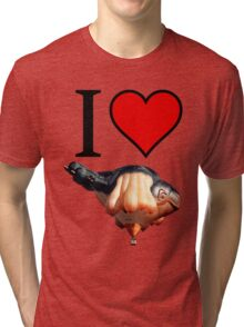 I <3 Skywhale Tri-blend T-Shirt