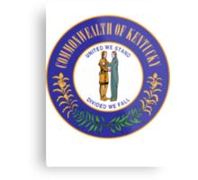 Kentucky Pride | State Seal | SteezeFactory.com Metal Print