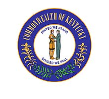 Kentucky Pride | State Seal | SteezeFactory.com Photographic Print