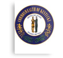 Kentucky | State Seal | SteezeFactory.com Metal Print