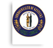 Kentucky | State Seal | SteezeFactory.com Canvas Print