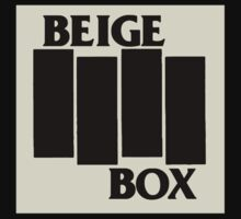 Beige Box Flag by sflassen