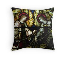 Aromatic Angels Throw Pillow