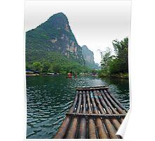 Li River Cruise Poster