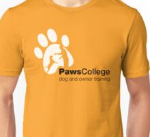Paws College White marketing materials Unisex T-Shirt