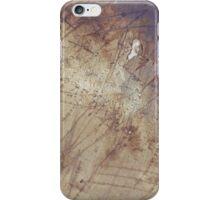 scruffy on wet ground iPhone Case/Skin