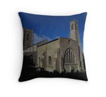 St Nicholas Church, Blakeney Throw Pillow