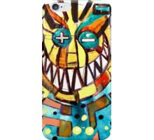 smiley face & the T iPhone Case/Skin