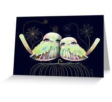 Little Love Birds Greeting Card