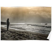 Bells Beach sunrise Poster