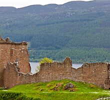 Urquhart Castle by Adrian Alford Photography