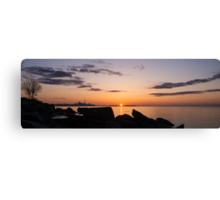 Toronto Skyline Panorama at Sunrise Canvas Print