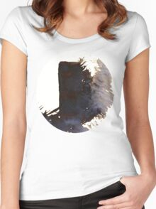 The shadow of the monolith Women's Fitted Scoop T-Shirt