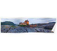 Eilean Donan Panorama Poster