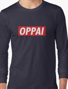 One Punch Man - Saitama - Oppai Long Sleeve T-Shirt