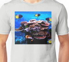 Closeup Coral and Fish Unisex T-Shirt