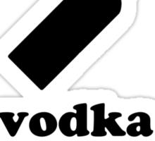 Vodka Diet Sticker