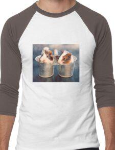Double Delight Men's Baseball ¾ T-Shirt