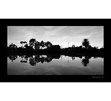 Fairways Village Lake, Craigieburn Photographic Print