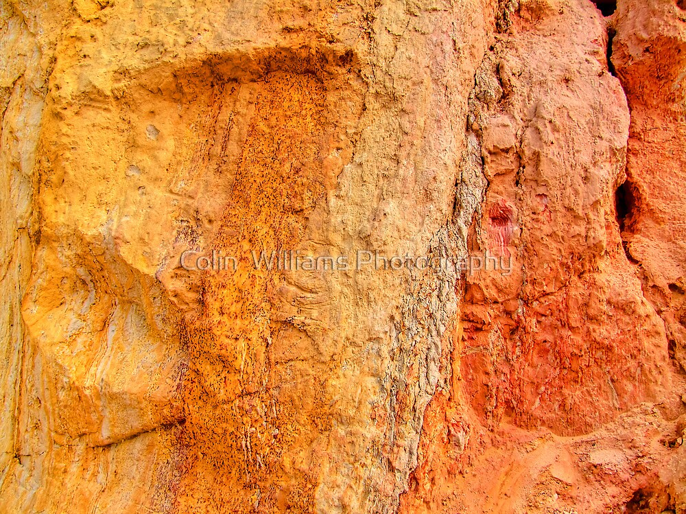 Alum Bay Colour Chart - I.O.W. by Colin  Williams Photography