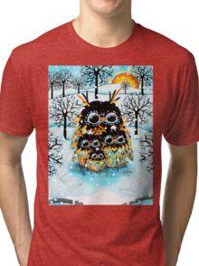 snow owls Tri-blend T-Shirt