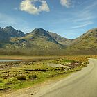 The Road To Elgol by Jamie  Green