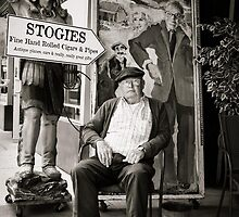 Cigar Shop SF B&W by GJKImages
