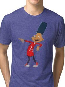 Gerald Shapes- Hey Arnold  Tri-blend T-Shirt