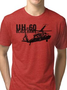 UH-60 Black Hawk Tri-blend T-Shirt