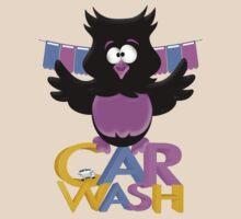 Car Wash Birdie .. tee shirt by LoneAngel