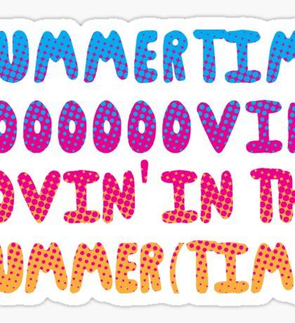 Summertime Lovin' Sticker