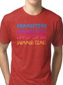 Summertime Lovin' Tri-blend T-Shirt