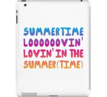 Summertime Lovin' iPad Case/Skin
