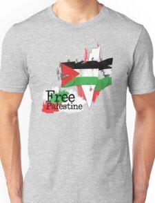 Free Palestine new design Oct. 2013 Unisex T-Shirt