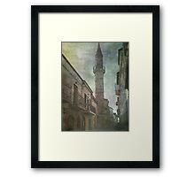 The Minaret Framed Print