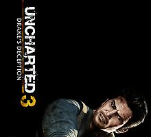 Uncharted 3 Nathan Drake Cover by noctisricky