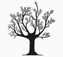 Dead tree skeleton sticker by salodelyma