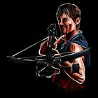 Daryl Dixon - The Walking Dead by uberdoodles