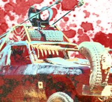 Mad Max Car- Bloody Mess Sticker