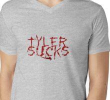 Tyler Sucks Mens V-Neck T-Shirt