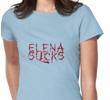 Elena Sucks Womens Fitted T-Shirt