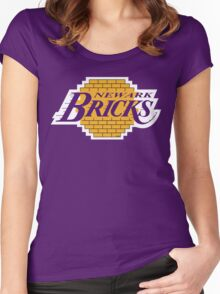 'Land of Bricks' Women's Fitted Scoop T-Shirt