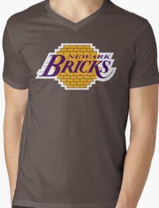 'Land of Bricks' Mens V-Neck T-Shirt
