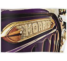Classic Vehicles - Morris Poster