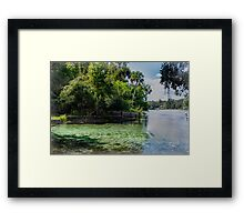 Cool Clear Water Framed Print