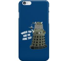 Dalek Cuppa (Colored) iPhone Case/Skin