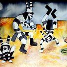 Clown Dance by Neely Stewart