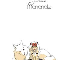 Princess Mononoke by ChloeJade
