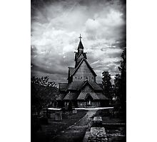 Heddal Stavechurch Photographic Print