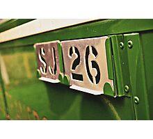 Classic Vehicles - Omnibus Badge Photographic Print